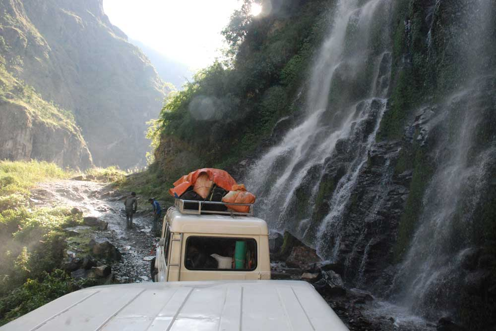 Ground Transport Manaslu Circuit and Tsum Valley Trek 2
