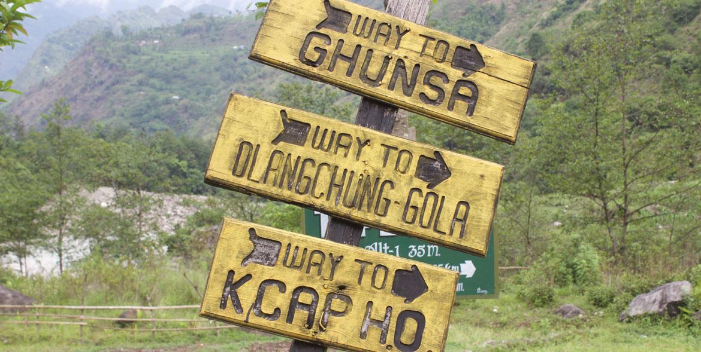 Kanchenjunga Circuit North To South Trek Report May 2016 5