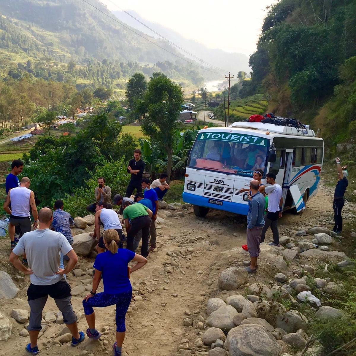 Ground Transport Manaslu Circuit and Tsum Valley Trek 1