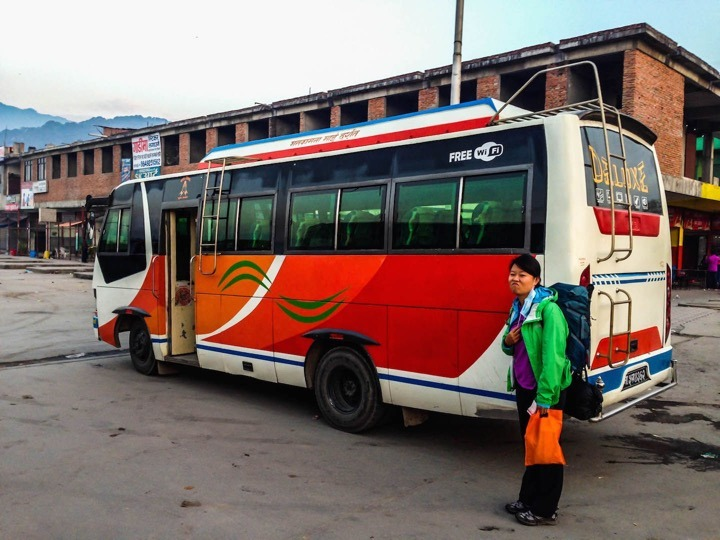 Local bus kathmandu to Besisahar