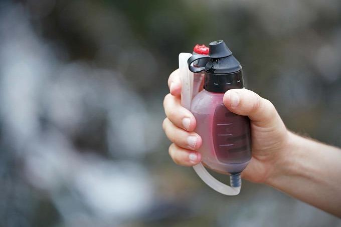 Water filter using it in Gorepani Poon Hill Trek