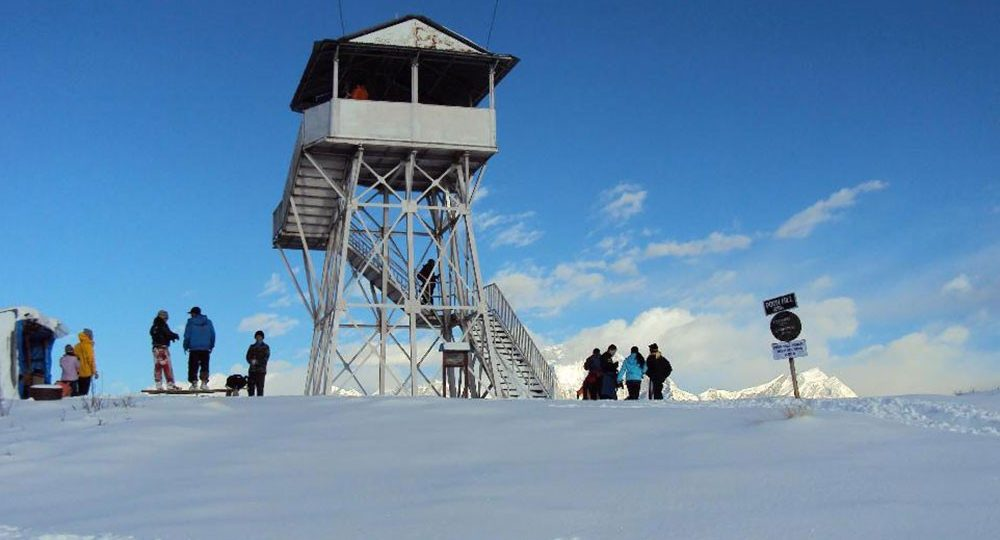 poon hill tower in december