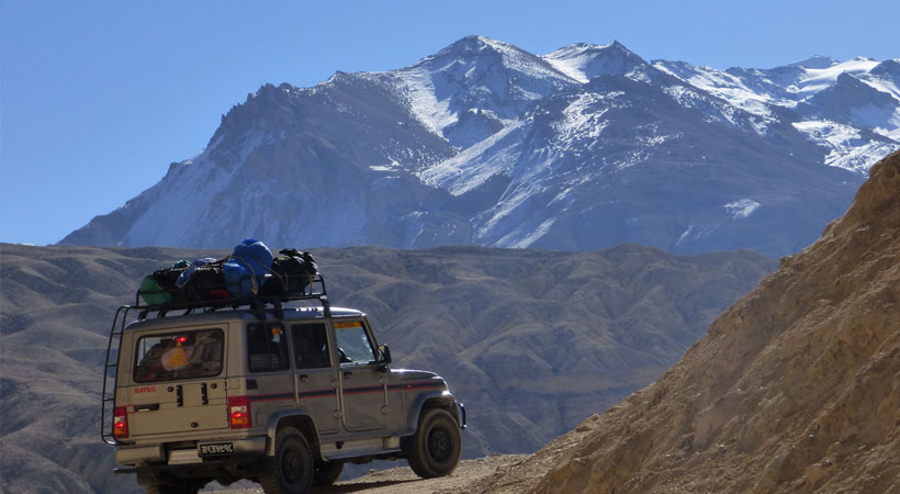 Upper Mustang by Jeep